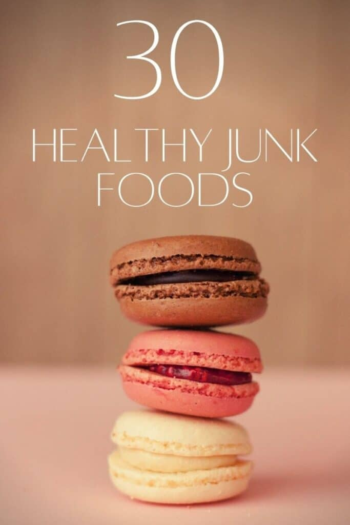 30 Healthy Junk Foods (w/ Images and Nutrition Facts) - We've reviewed hundreds of snacks and narrowed it down to the top 30. These 30 healthy junk foods will forever change the way you snack.
